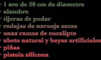 materiales corona
